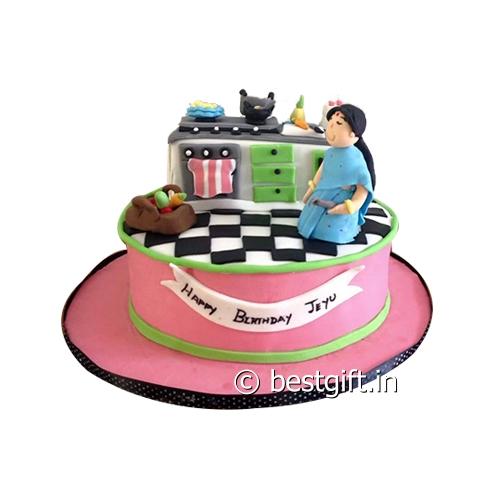 Kitchen Theme Cake Online Delivery Victoria Junction Siliguri