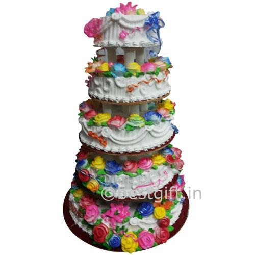 Cake Design Step By Step : 5 step cake