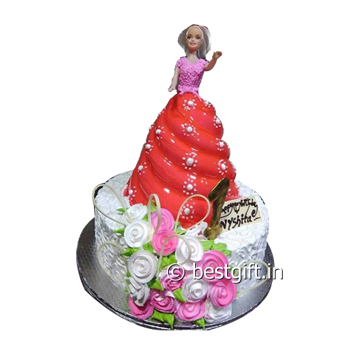 Order Barbie Doll Step Cakefrom Bake Way
