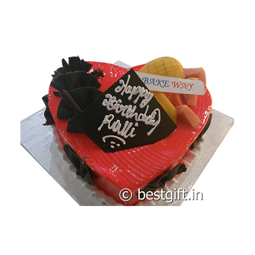 Order Strawberry Heart Cakefrom Bake Way