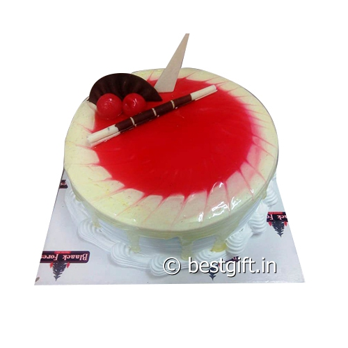 Order Litchi Strawberry Cakefrom Blaack Forest