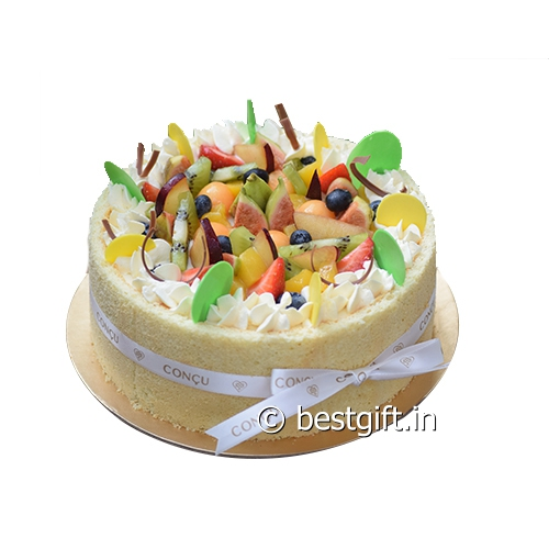 Remarkable Exotic Fruit Cake Online Delivery Concu Hyderabad Best T In Personalised Birthday Cards Akebfashionlily Jamesorg