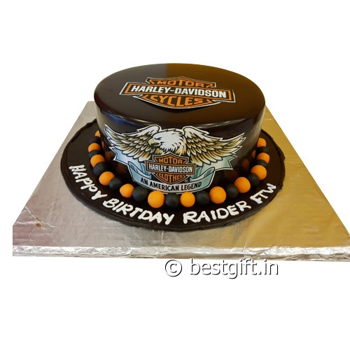 Marvelous Harley Davidson Cake Online Delivery Cubs Mysore Best T In Funny Birthday Cards Online Necthendildamsfinfo