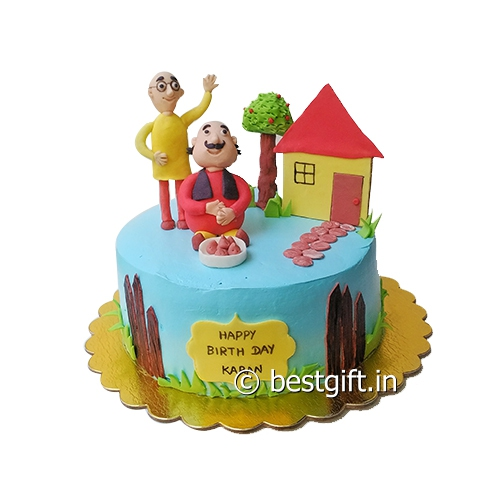 Cake Of Motu Patlu : Haris Heavenly Cakes Cakes Home delivery Order Cakes ...