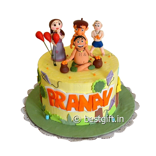 Chota Bheem Images Cake