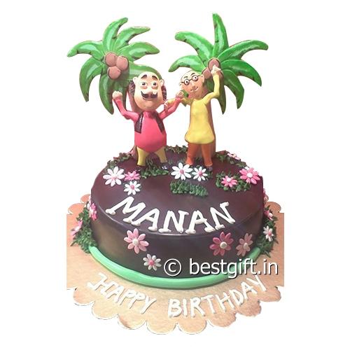 Motu N Patlu Cake Online Delivery House Of Chocolates Kolkata