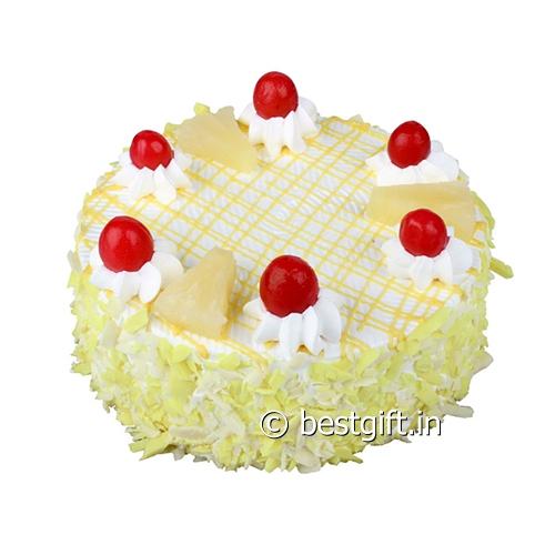 Cake With Photo Monginis : Pineapple Cake from Monginis in Mumbai - bestgift.in