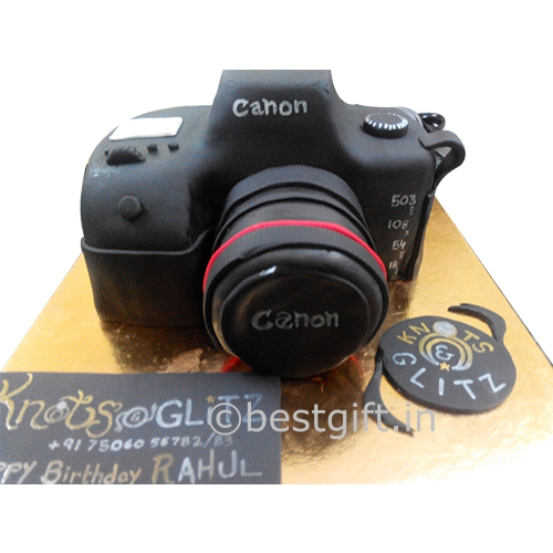 Fabulous Canon Camera Cake Online Delivery The Piece Of Cake Mumbai Funny Birthday Cards Online Barepcheapnameinfo