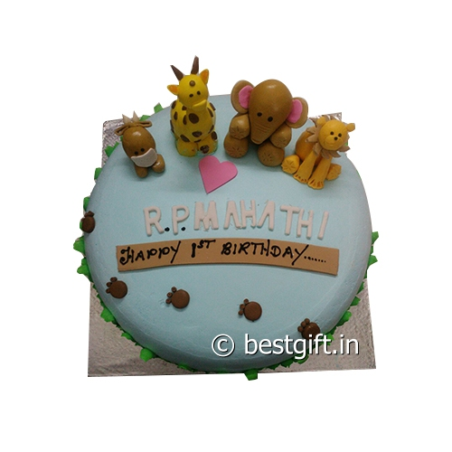 Order Animals Theme Cakefrom The Cake Point