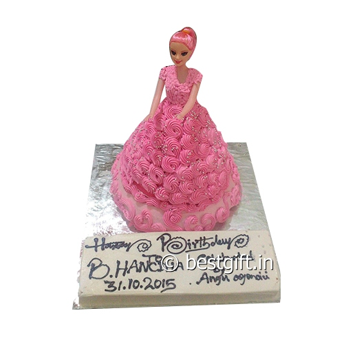 Order Barbie in Pinkfrom The Cake Point
