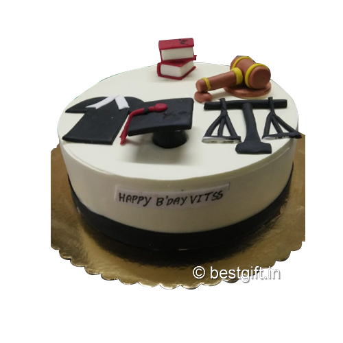Order Lawyer Theme  Cakefrom The Cake Wala