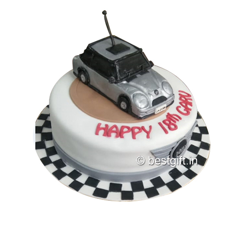 Order Car Theme Cakefrom The Cake Wala